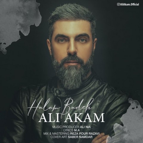 دانلود ترانه جدید علی آکام حالم بده