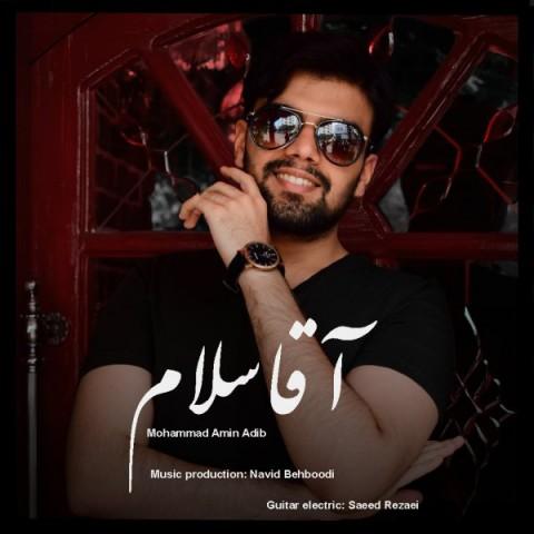 دانلود ترانه جدید محمد امین ادیب آقا سلام