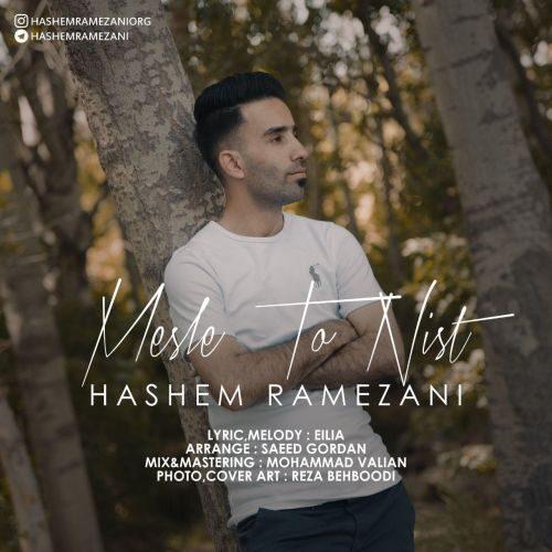 دانلود ترانه جدید هاشم رمضانی مثل تو نیست