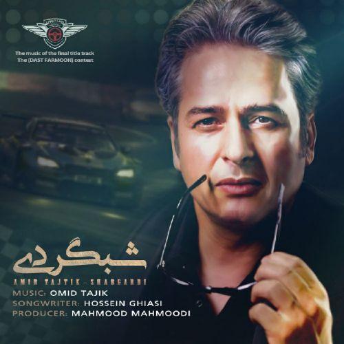 دانلود ترانه جدید امیر تاجیک شبگردی