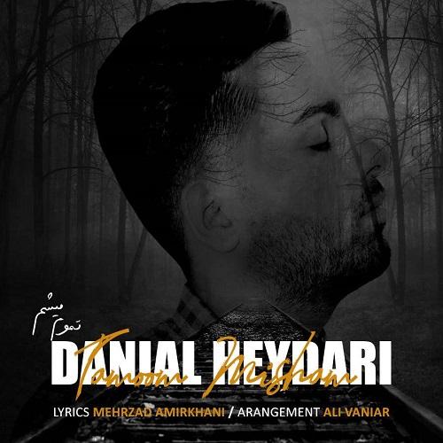 دانلود ترانه جدید دانیال حیدری تموم میشم