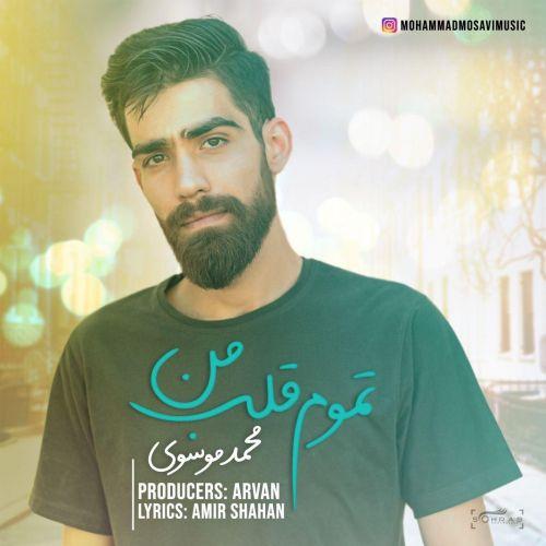 دانلود ترانه جدید محمد موسوی تموم قلب من