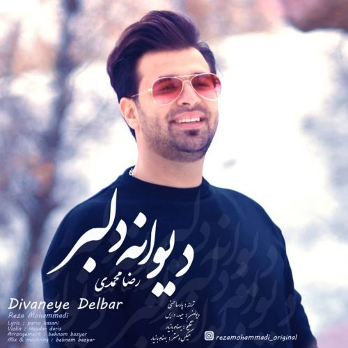 دانلود ترانه جدید رضا محمدی دیوانه دلبر