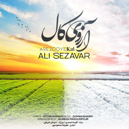 دانلود ترانه جدید علی سزاوار آرزوی کال