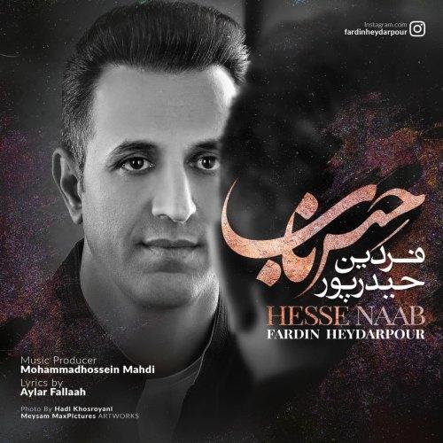 دانلود ترانه جدید فردین حیدرپور حس ناب