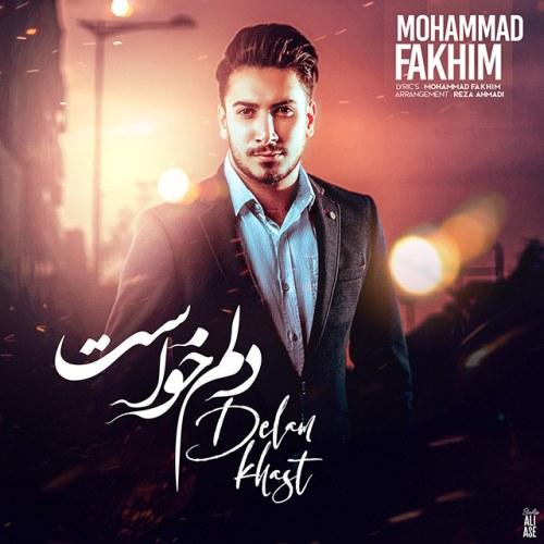 دانلود ترانه جدید محمد فخیم دلم خواست
