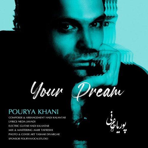 دانلود ترانه جدید پوریا خانی رویایِ تو