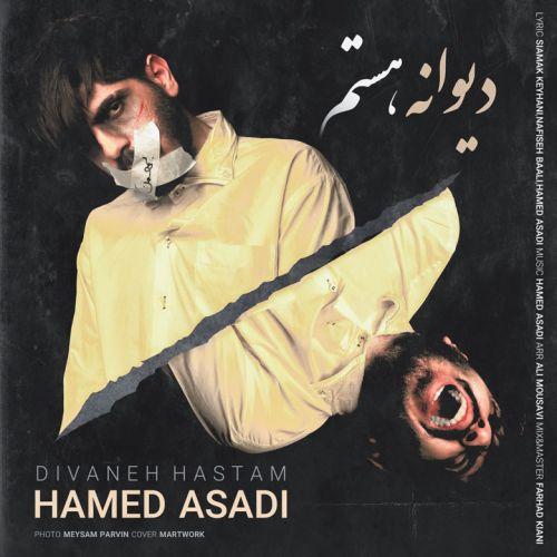 دانلود ترانه جدید حامد اسدی دیوانه هستم