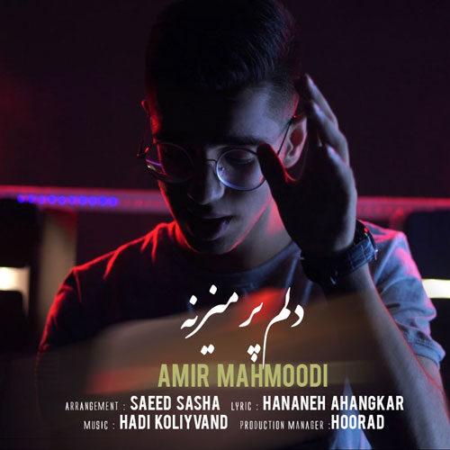 دانلود ترانه جدید امیر محمودی دلم پر میزنه